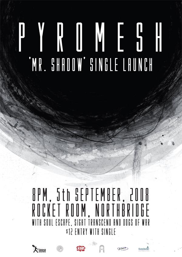 Mr Shadow Launch Poster